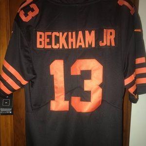 "Men's Odell Beckham Jr Large Color Rush ""On Field"""